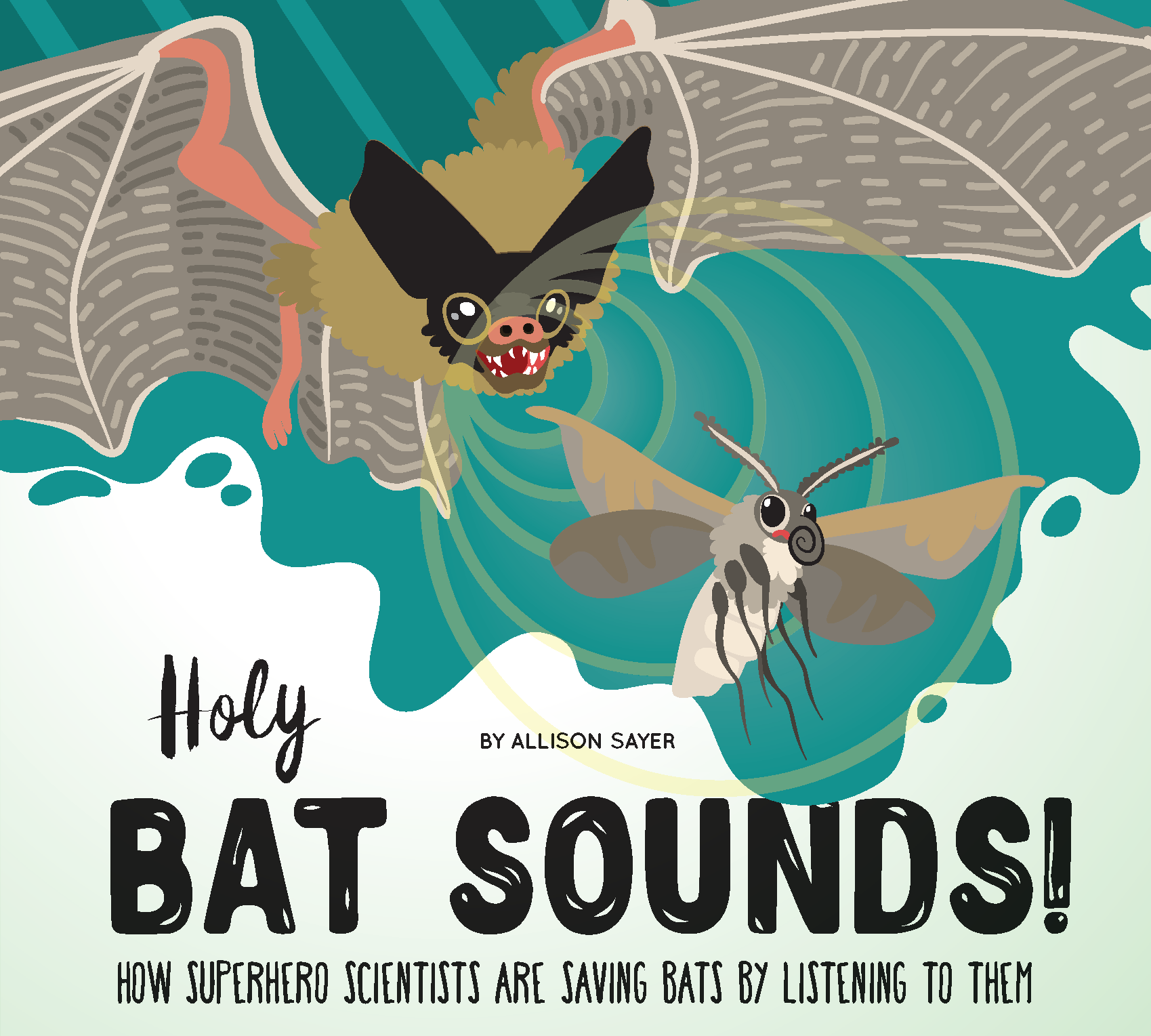 How Superhero Scientists Are Saving Bats By Listening To Them